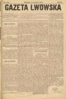 Gazeta Lwowska. 1899, nr 184