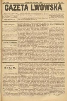 Gazeta Lwowska. 1899, nr 188