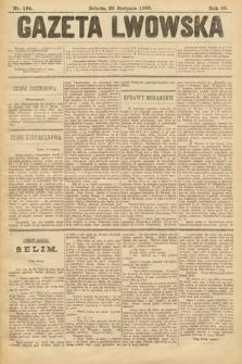 Gazeta Lwowska. 1899, nr 194