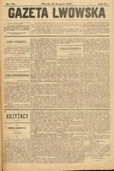 Gazeta Lwowska. 1899, nr 196