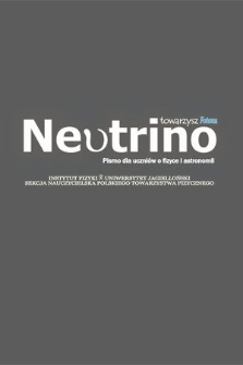 Neutrino : pismo dla uczniów o fizyce iastronomii : towarzysz Fotonu