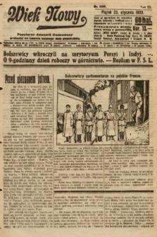 Wiek Nowy : popularny dziennik ilustrowany. 1920, nr5600