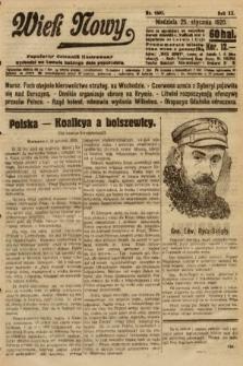 Wiek Nowy : popularny dziennik ilustrowany. 1920, nr5602