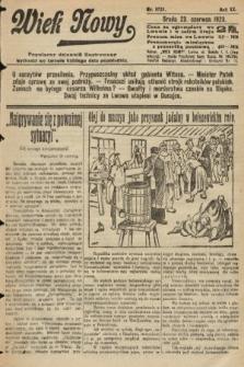 Wiek Nowy : popularny dziennik ilustrowany. 1920, nr5723