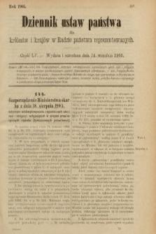 Dziennik Ustaw Państwa dla Królestw i Krajów w Radzie Państwa Reprezentowanych. 1905, nr55