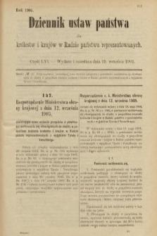 Dziennik Ustaw Państwa dla Królestw i Krajów w Radzie Państwa Reprezentowanych. 1905, nr56