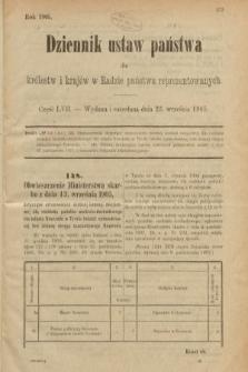 Dziennik Ustaw Państwa dla Królestw i Krajów w Radzie Państwa Reprezentowanych. 1905, nr57