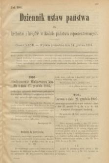 Dziennik Ustaw Państwa dla Królestw i Krajów w Radzie Państwa Reprezentowanych. 1905, nr82