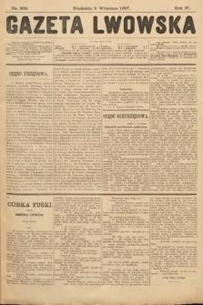 Gazeta Lwowska. 1907, nr206