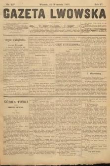Gazeta Lwowska. 1907, nr207