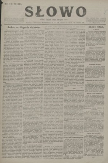 Słowo. 1924, nr190