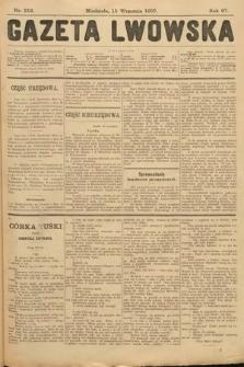 Gazeta Lwowska. 1907, nr212