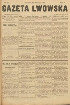 Gazeta Lwowska. 1907, nr215
