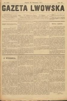 Gazeta Lwowska. 1907, nr216