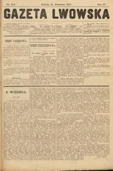 Gazeta Lwowska. 1907, nr217