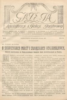 Gazeta Administracji i Policji Państwowej. 1927, nr8