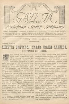 Gazeta Administracji i Policji Państwowej. 1927, nr10