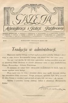 Gazeta Administracji i Policji Państwowej. 1927, nr12