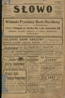 Słowo. 1922, nr1
