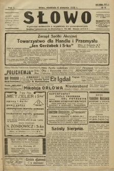 Słowo. 1922, nr6