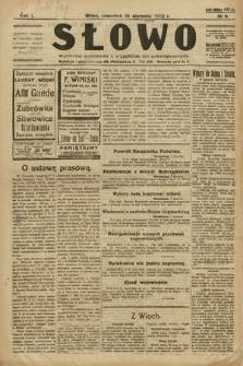 Słowo. 1922, nr9