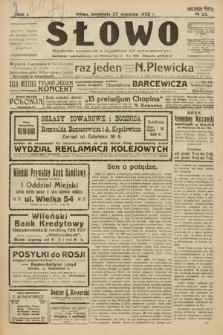 Słowo. 1922, nr23