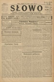 Słowo. 1922, nr68