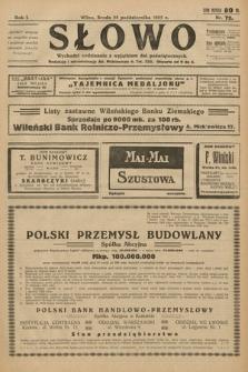 Słowo. 1922, nr72