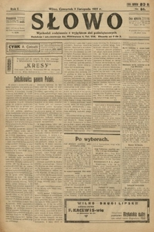 Słowo. 1922, nr84