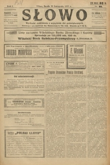 Słowo. 1922, nr89