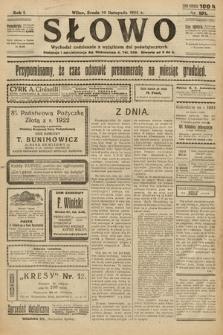 Słowo. 1922, nr101