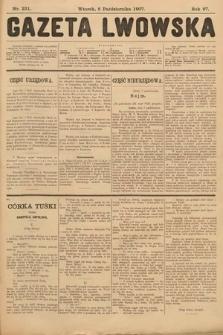 Gazeta Lwowska. 1907, nr231