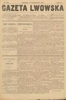 Gazeta Lwowska. 1907, nr233