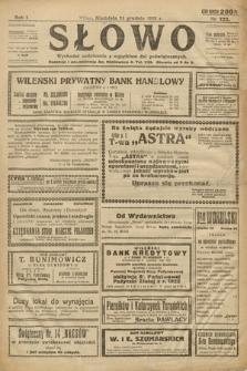 Słowo. 1922, nr122