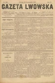 Gazeta Lwowska. 1907, nr241