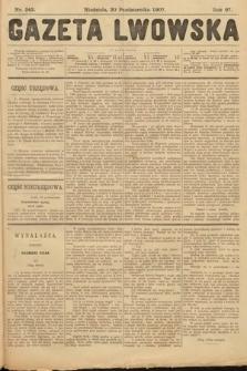 Gazeta Lwowska. 1907, nr242