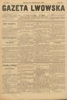 Gazeta Lwowska. 1907, nr249