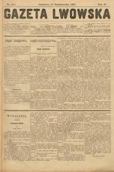 Gazeta Lwowska. 1907, nr251