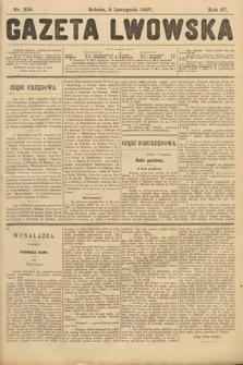 Gazeta Lwowska. 1907, nr258