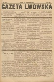 Gazeta Lwowska. 1907, nr261