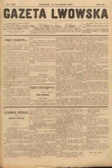 Gazeta Lwowska. 1907, nr262