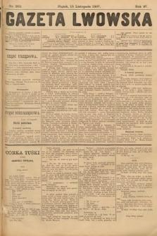 Gazeta Lwowska. 1907, nr263