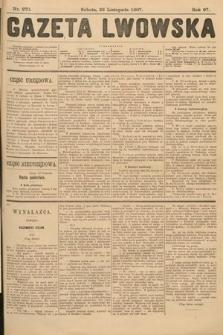 Gazeta Lwowska. 1907, nr270