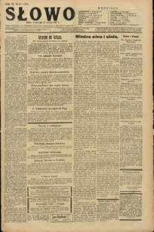 Słowo. 1927, nr62
