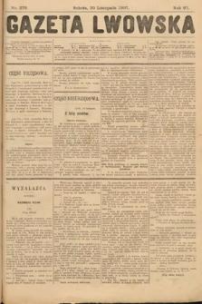 Gazeta Lwowska. 1907, nr276