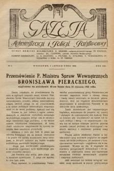 Gazeta Administracji i Policji Państwowej. 1932, nr3
