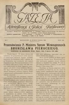Gazeta Administracji i Policji Państwowej. 1932, nr6