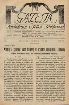 Gazeta Administracji i Policji Państwowej. 1932, nr8