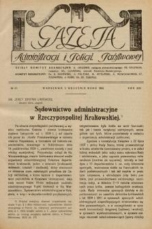 Gazeta Administracji i Policji Państwowej. 1932, nr17