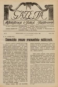 Gazeta Administracji i Policji Państwowej. 1932, nr22